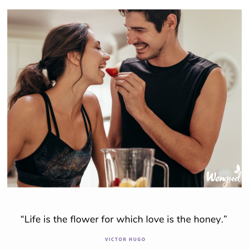 """Life is the flower for which love is the honey."""