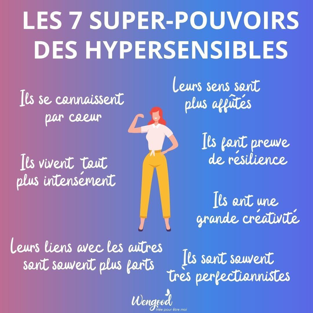 Les 7 super pouvoirs des hypersensibles par Wengood
