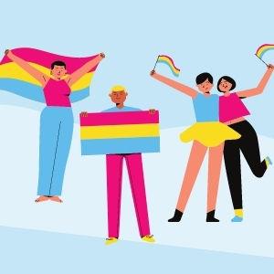 panseksüel bayrağı