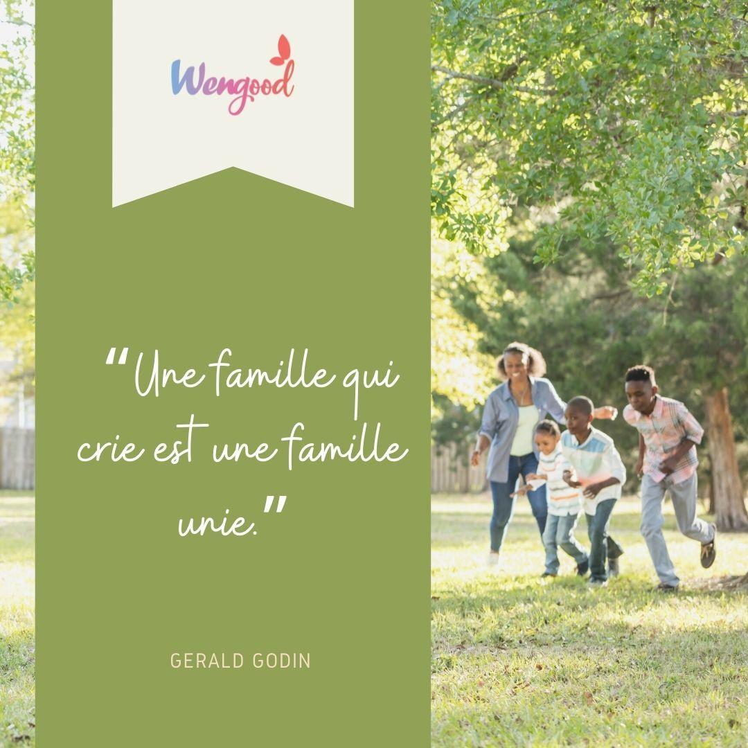 """""""Une famille qui crie est une famille unie."""" Gérald Godin"""