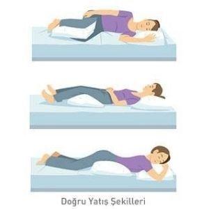 bel sağlığı için doğru yatış pozisyonları