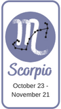 Scorpio horoscope 2022