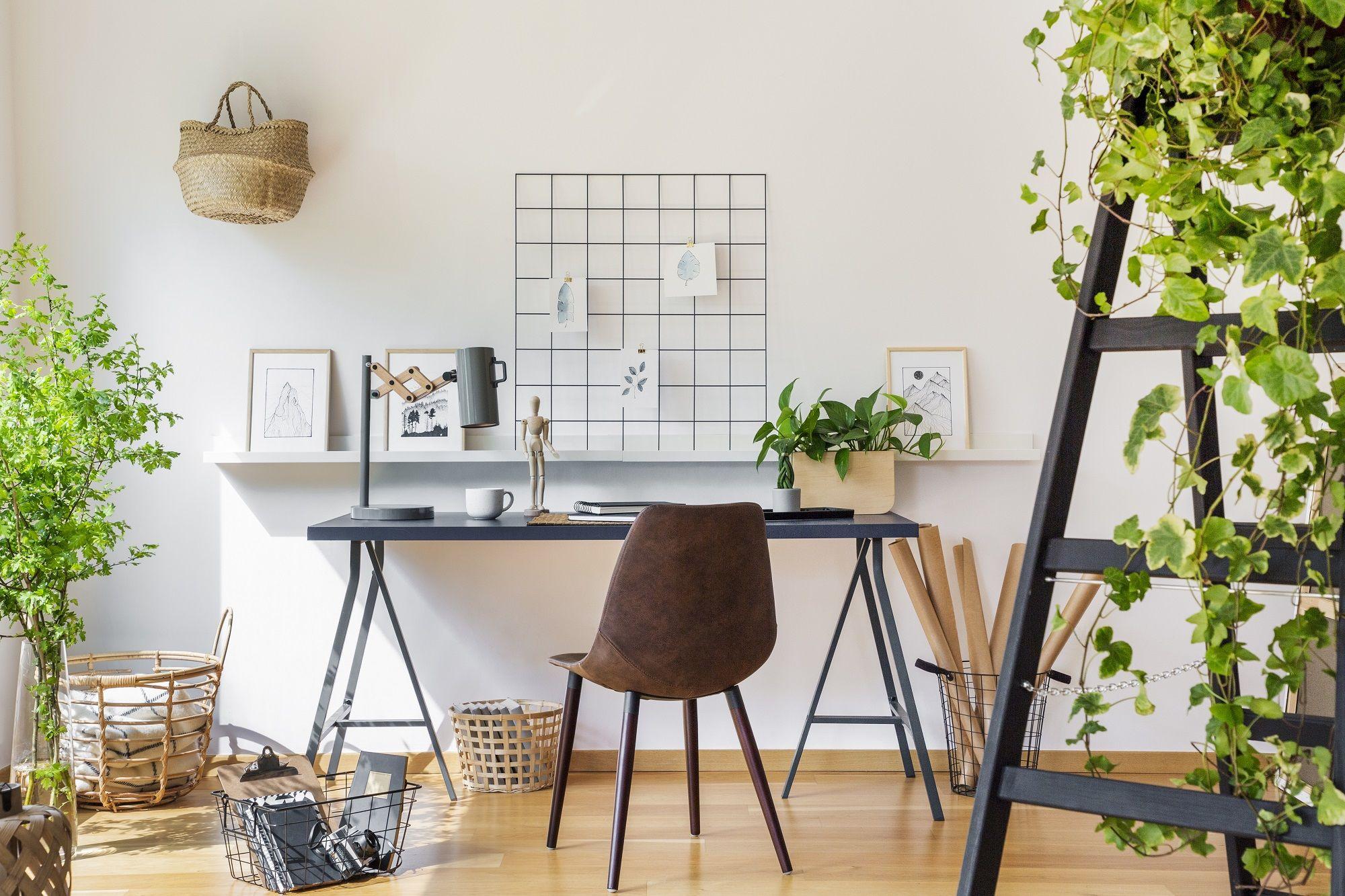 Salon/Chambre  12 idées déco pour aménager un coin bureau