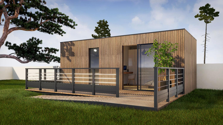 Devis Extension Maison  Cachan → Agrandissement Bois, Acier, Parpaing
