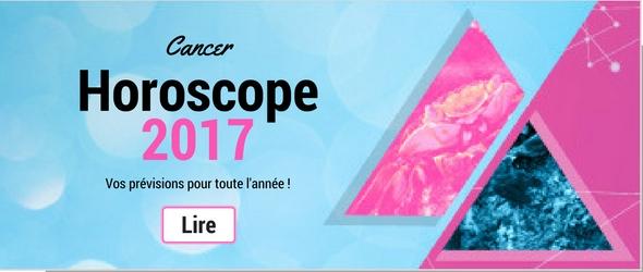 Horoscope 2017 du signe astrologique Cancer