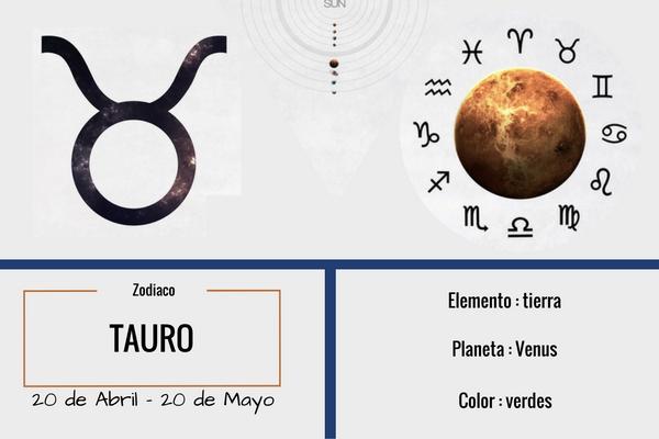 tauro, elemento: tierra, planeta: venus, color: verde