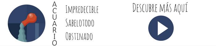 El perfil zodiacal de Acuario