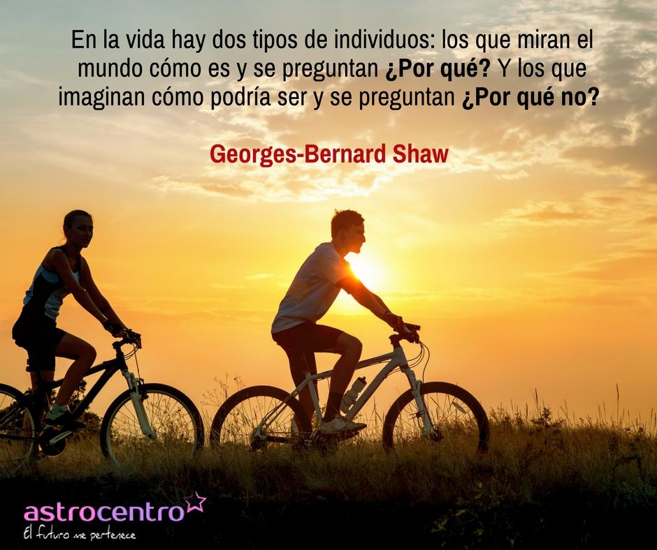 frase de Georges bernard Shaw