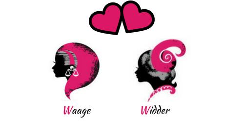 Waage und Widder: Glück in der Liebe? Passen Sie zusammen?