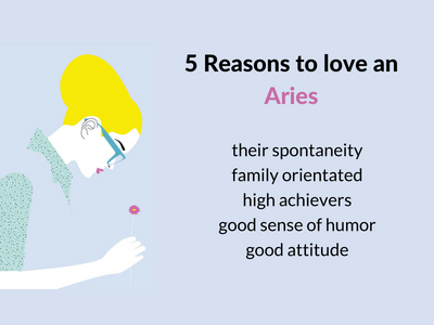 Reasons to love an Aries