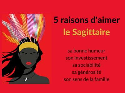 5 raisons d'aimer un sagittaire