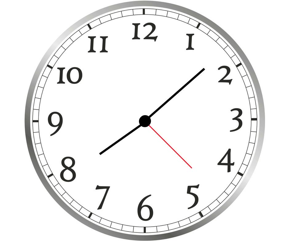 Orologio, 08:08