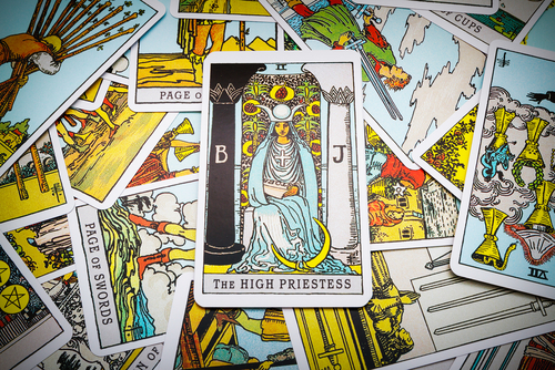 Tarot card - The High Priestess