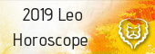 2019 Leo horoscope
