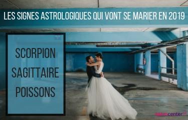 Les signes astrologiques qui vont se marier en 2019