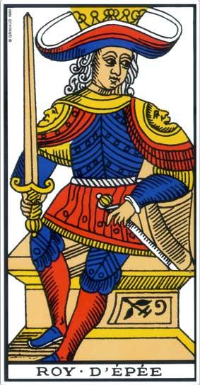 Tarot 2019 le roy de l'épée