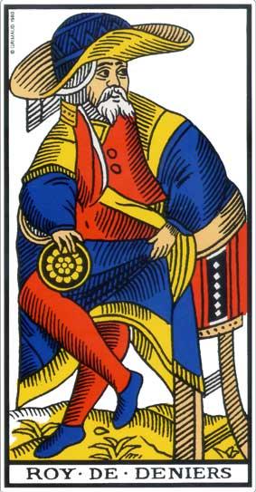 tarot 2019 roi de denier