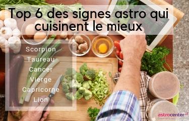 meilleur cuisinier signe astrologique
