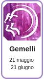 Profilo astrologico Gemelli