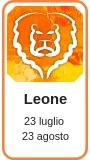 Profilo astrologico Leone