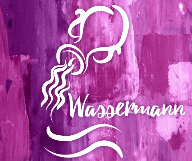 Wassermann und zwillingsfrau
