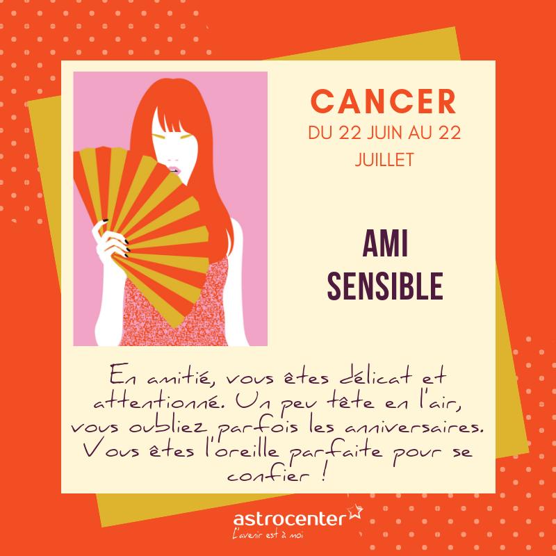 ami signe astrologique cancer